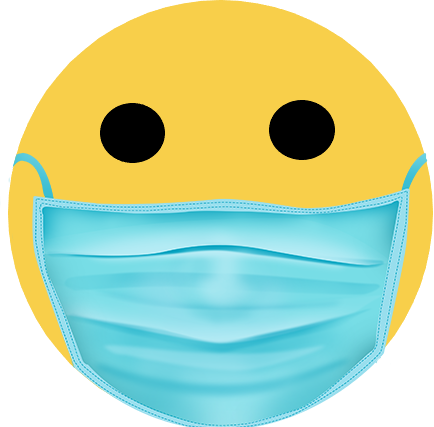 Smiley masqué
